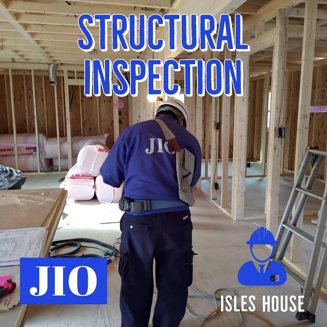 富岡市現場にて日本住宅保証検査機構JIOによる構造躯体検査が行われました。アイルズハウスでは安心してお客様に住んでいただくために、厳しい検査に合格した家をお引渡ししています。