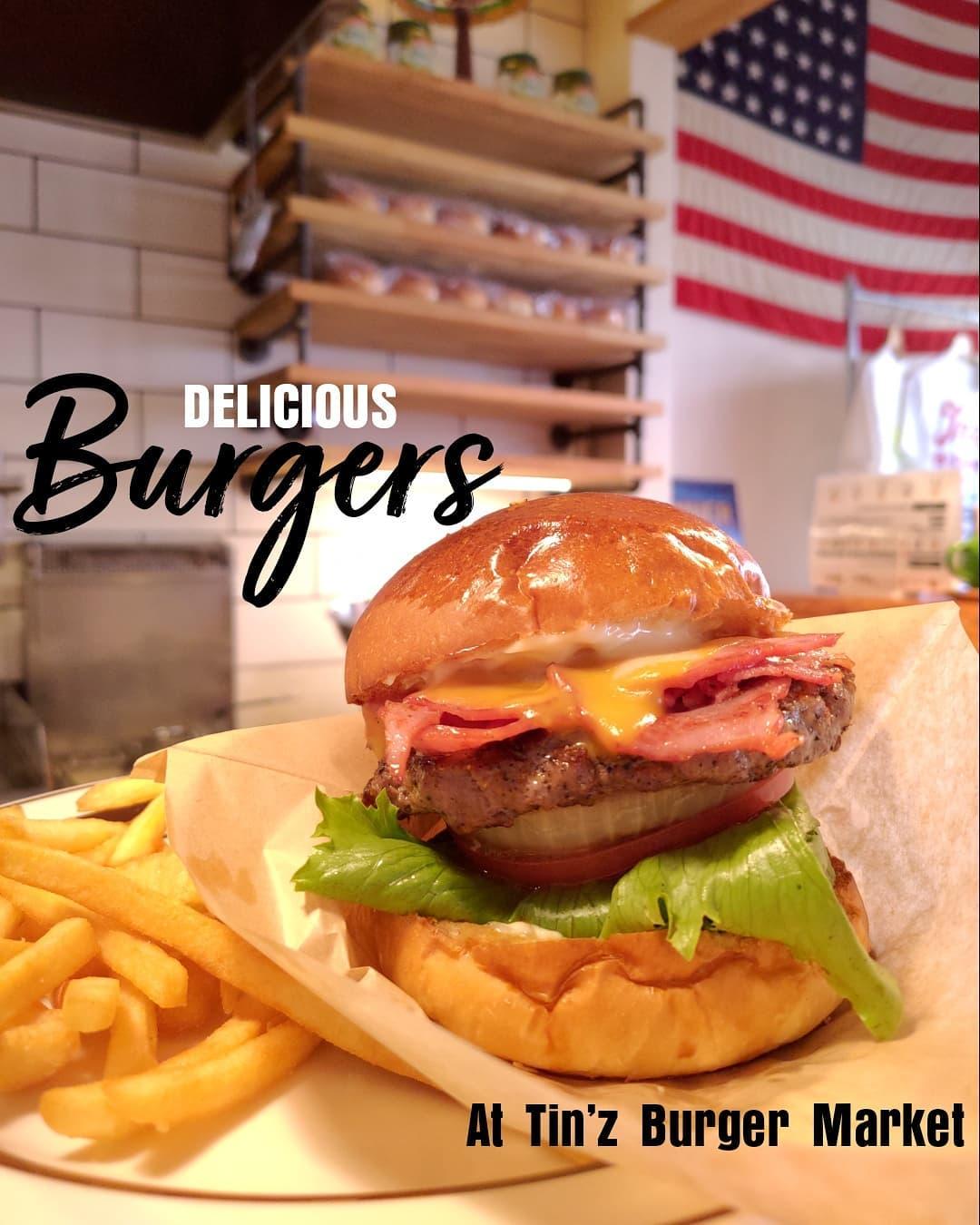高崎のグルメバーガー店でランチ。 アイルズハウス施工のTHE SANDWICH CLUBは姉妹店です。 #burger #humberger #グルメバーガー #ハンバーガー